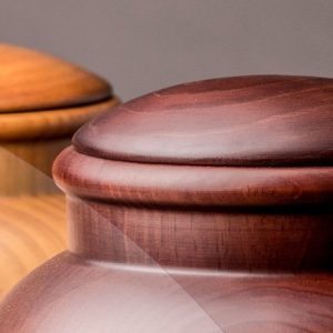 Dřevěné urny